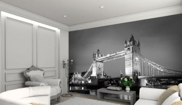 komplette wand als poster witzige originelle geschenkideen. Black Bedroom Furniture Sets. Home Design Ideas